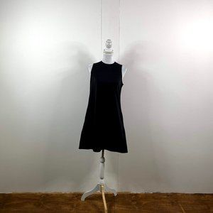 everlane women sleeveless dress sz small black